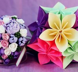 origami fleur en papier