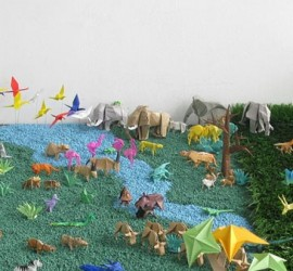 origami animaux en papier