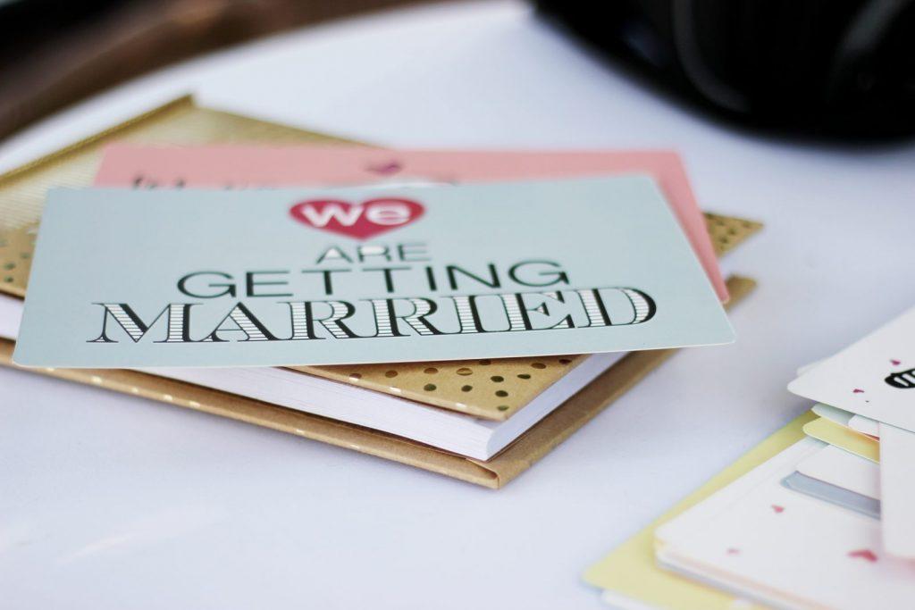 invitation mariage