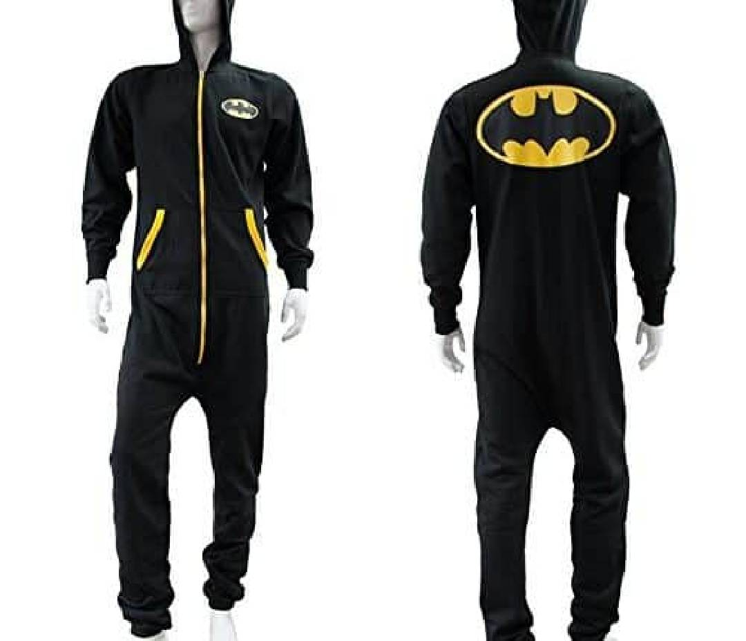 batman adult onesie