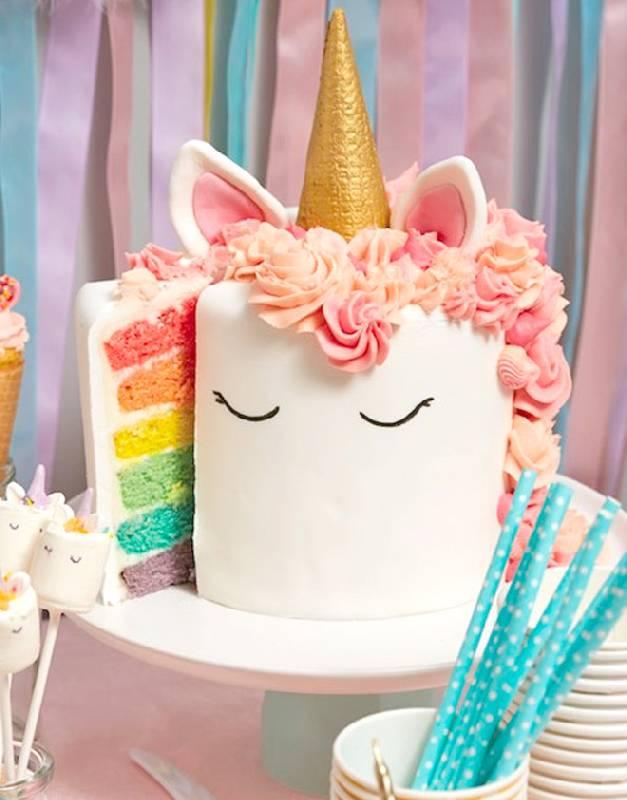 Les trésors du gâteau de la licorne