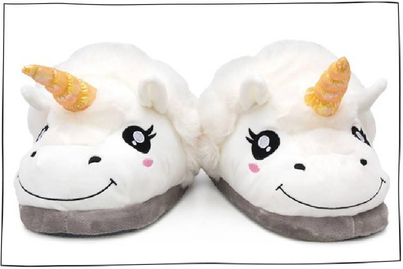 Pantoufles de licorne