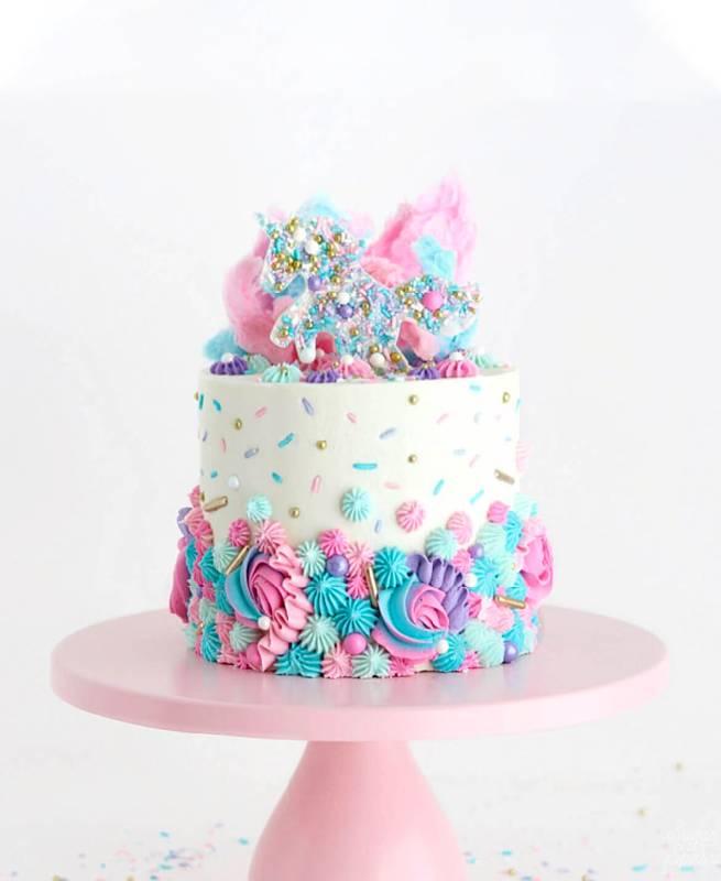 Gâteau de licorne