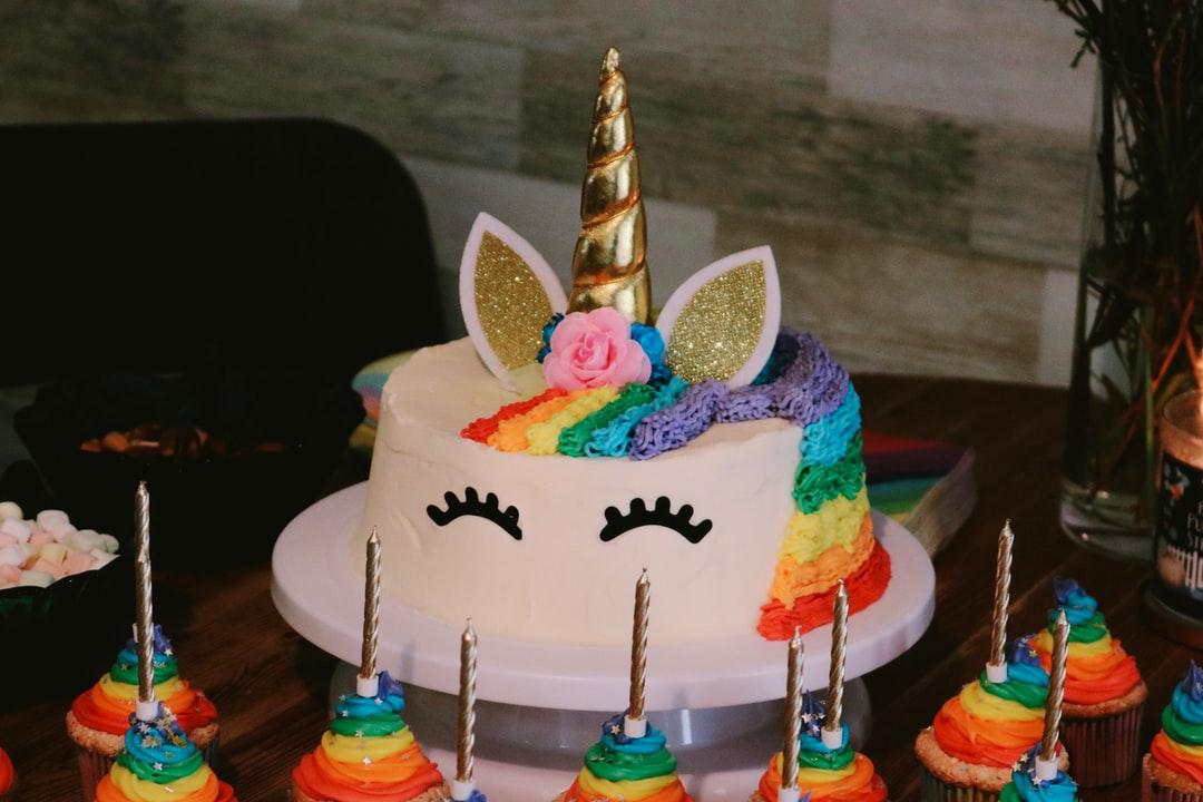 gateau licorne cupcake