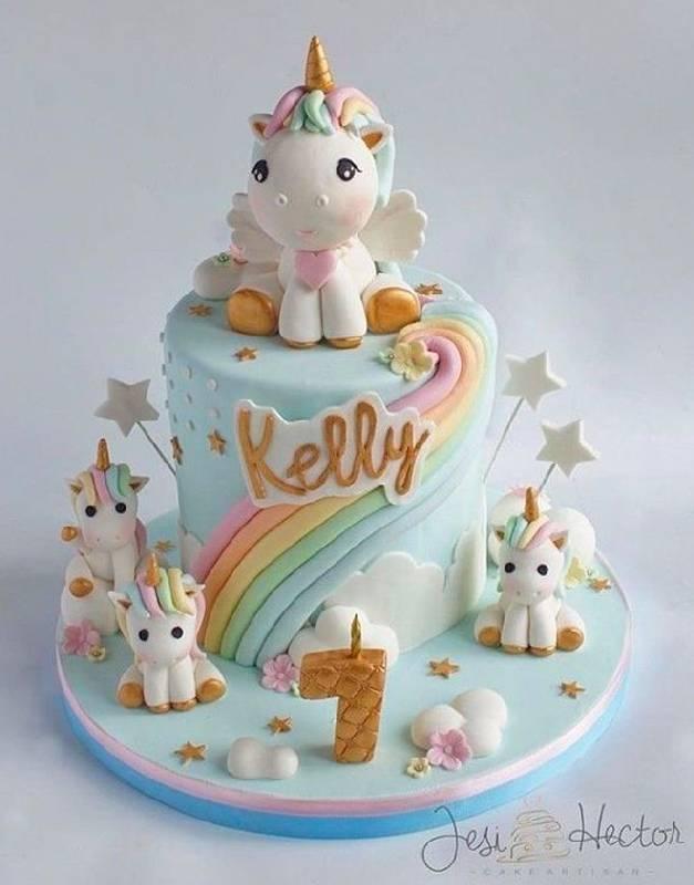 Gâteau mini licorne