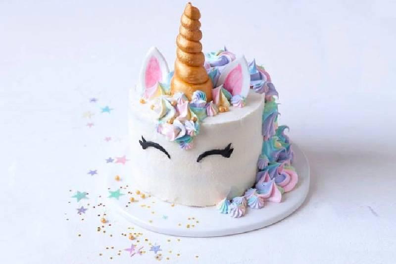Idées de gâteau de licorne