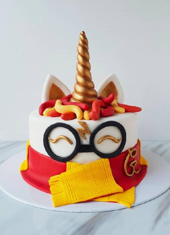 Gâteau de licorne Harry Potter