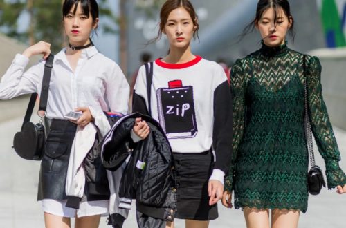 mode coreenne