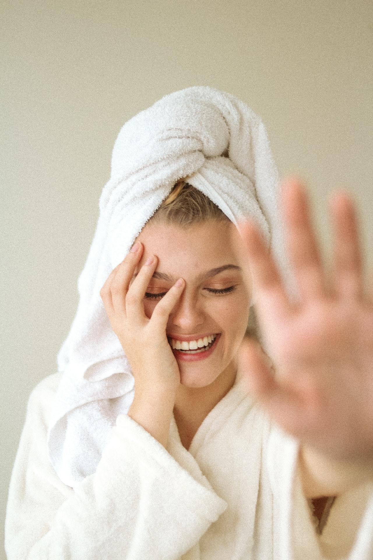 double nettoyage visage